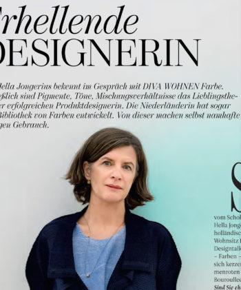 Portfolio: Hella Jongerius-Interview für DIVA WOHNEN