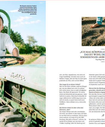 Portfolio: Pepi Hopf-Porträt für SERVUS MAGAZIN
